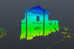 Rilievo laser scanner: Chiesa San Biagio Cantalupo (Rieti)
